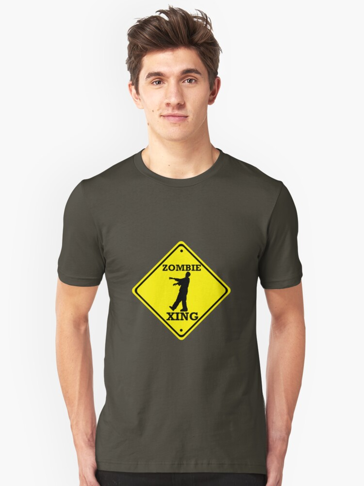 Zombie Crossing Unisex T-Shirt Front