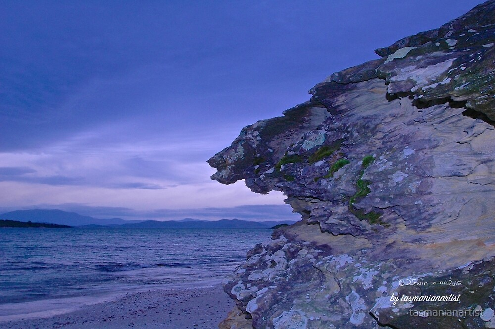 TASMAN PENINSULA ~ Lagoon Beach - Evening Ambiance by tasmanianartist by tasmanianartist