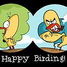 Happy Birding- Birdwatching Mug by rohanchak