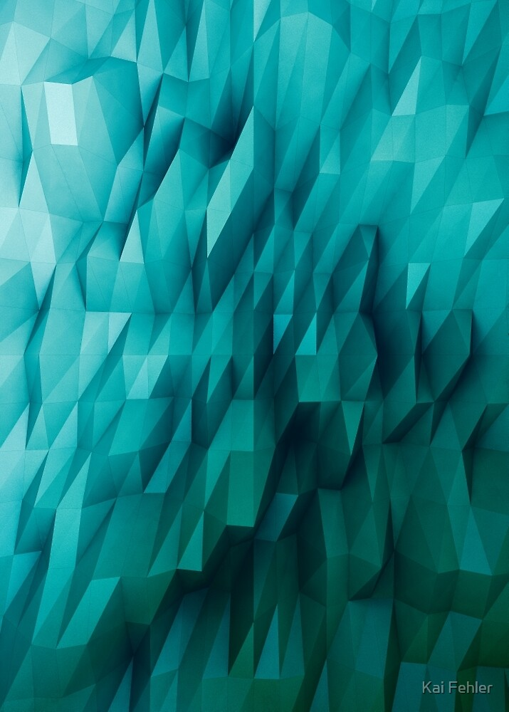 Abstract-Blue by Kai Fehler
