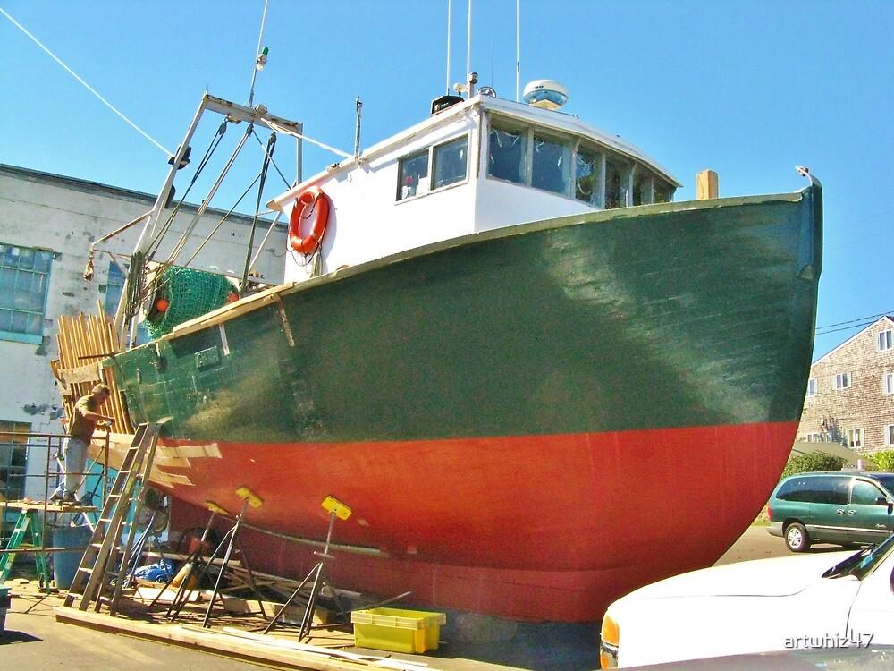 Drydock ~ Gloucester, MA by artwhiz47
