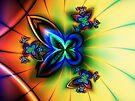 I love butterflies and flowers by inkedsandra