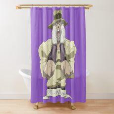 JJBA (FAN ART) Joseph Joestar - Oh My God! Shower Curtain