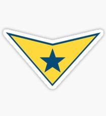 Booster Gold Logo Sticker