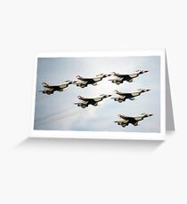 General Dynamics F-16 Greeting Card
