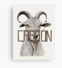 Not Looking Good Goat Canvas Print