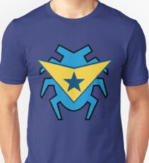 Blue Beetle and Booster Gold Slim Fit T-Shirt