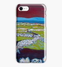 Stone Walls and the Grass is Green II iPhone Case/Skin