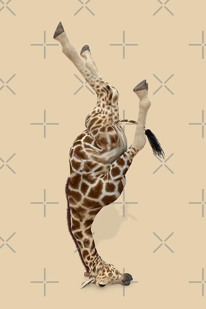 Giraffe Mastered Shirshasana by Mythos57