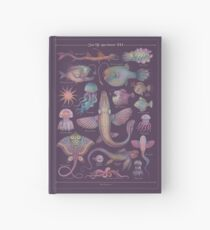 Sea life specimens III Hardcover Journal