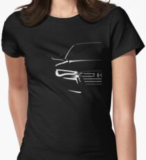 audi a6 Women's Fitted T-Shirt