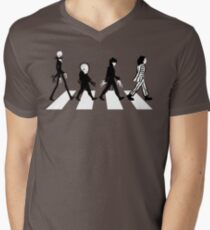 Burton Road Men's V-Neck T-Shirt