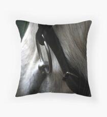 Silver Bit Throw Pillow