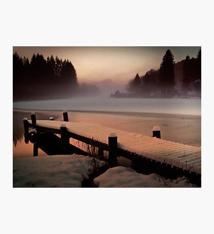 A Misty Glow. Photographic Print