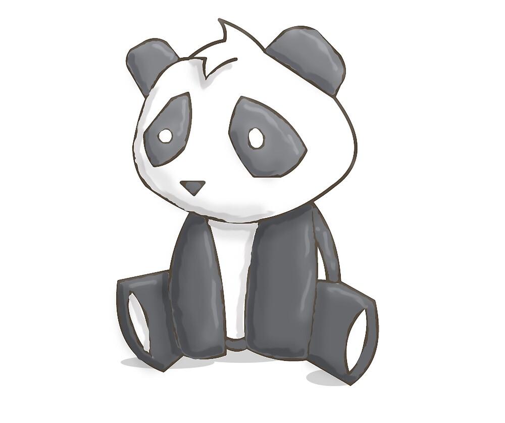 Quot Sad Panda 2 Quot By Machinimaboy Redbubble