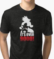 Over 9000 Tri-blend T-Shirt