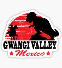 Gwangi Valley Sticker