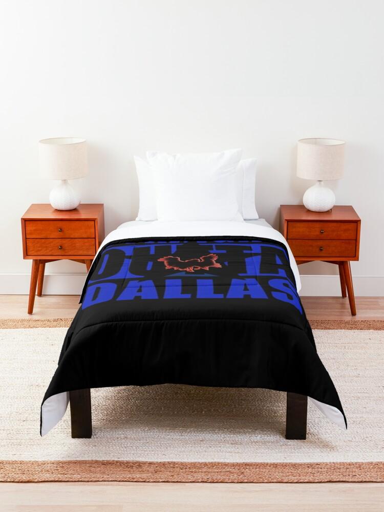 Alternate view of straight outta dallas pegasus Comforter