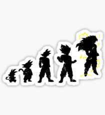 Monkey Evoltuion Sticker