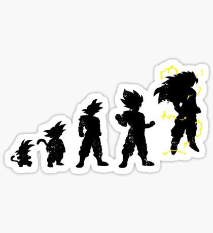 Monkey Evoltuion Sticker