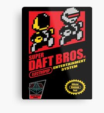 Super Daft Bros. Metal Print