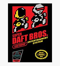 Super Daft Bros. Photographic Print