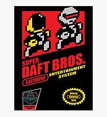 Super Daft Bros. Photographic Print