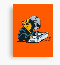 Daft Nuts Canvas Print
