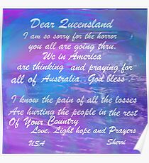 QUEENSLAND AUSTRALIA..HOPE/01-12-2011 Poster