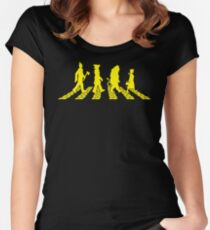 Yellow Brick Abbey Road Women's Fitted Scoop T-Shirt