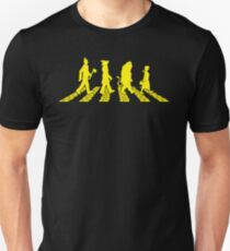 Yellow Brick Abbey Road Unisex T-Shirt