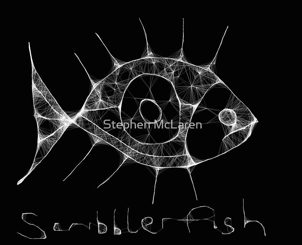 scribbler fish by Stephen McLaren