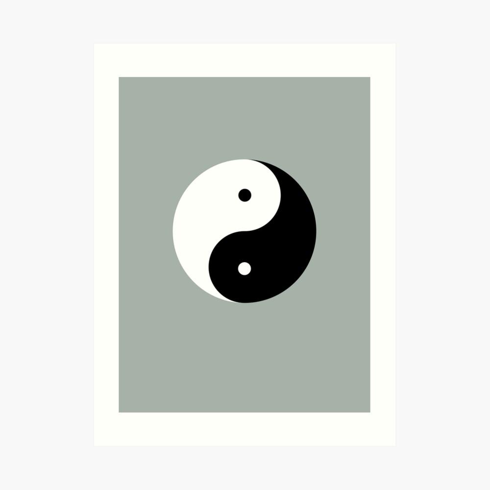 Taijitu / Yin and Yang Art Print