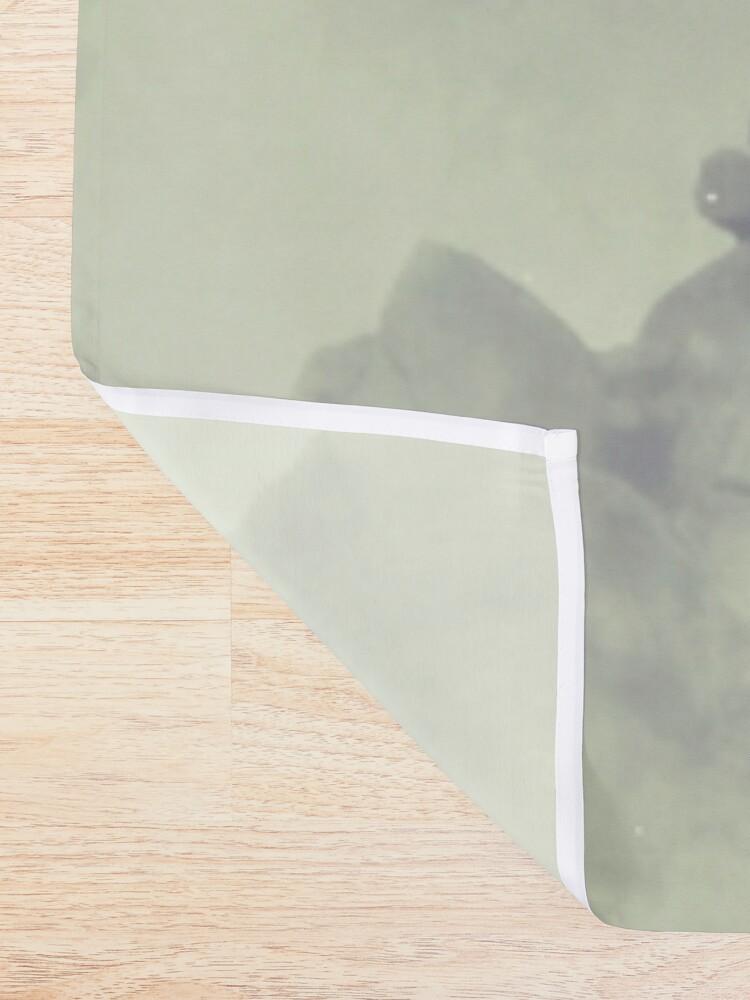 Alternate view of ROAR Shower Curtain