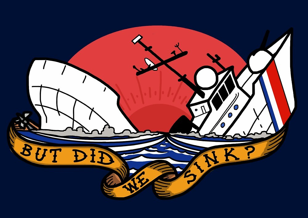 Coast Guard - But Did We Sink by AlwaysReadyCltv