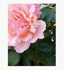 hozier - rose theme Photographic Print