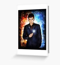 He's like fire and ice and rage. Greeting Card