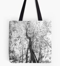 Reach (bw) Tote Bag