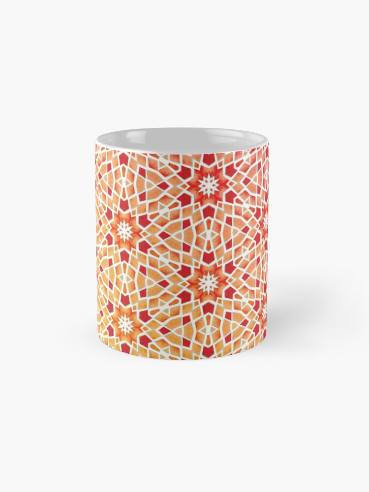 Alternate view of Gradient Tile Mosaic Pattern Mug