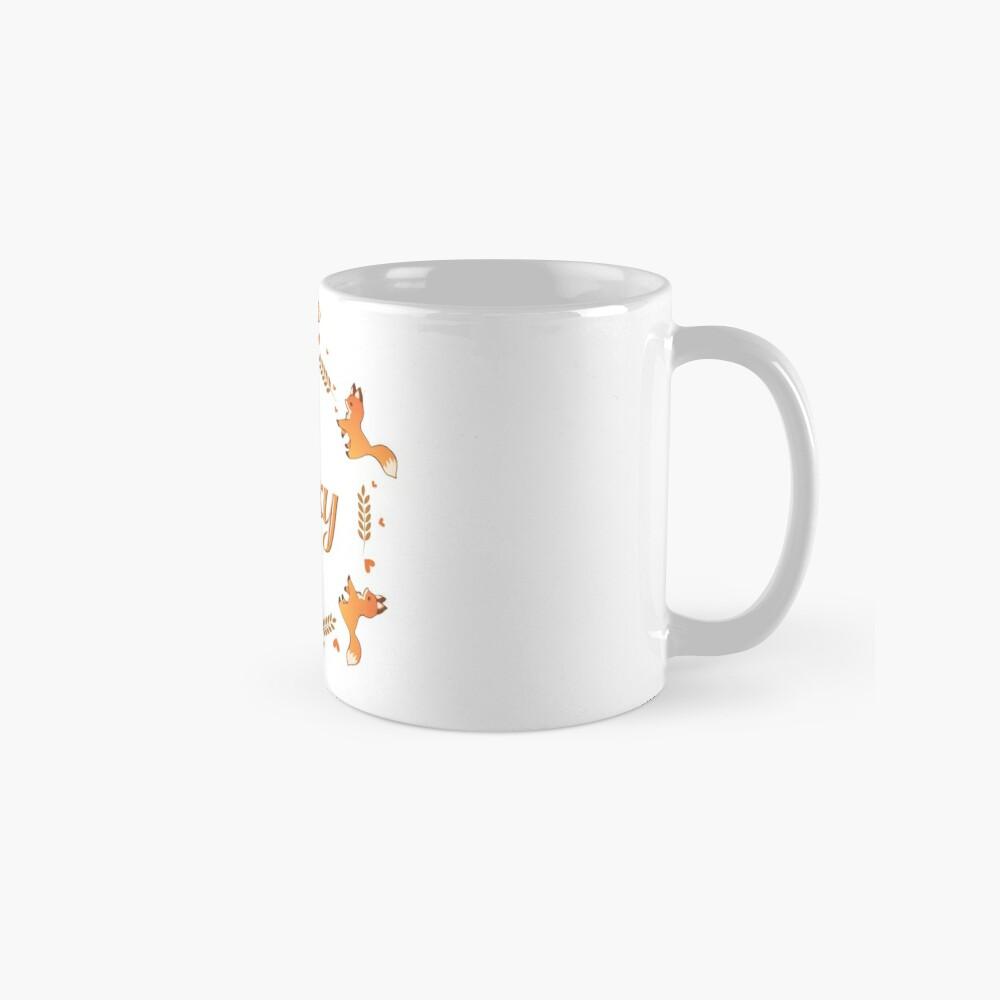 Cute Foxy Fox Wreath Mug