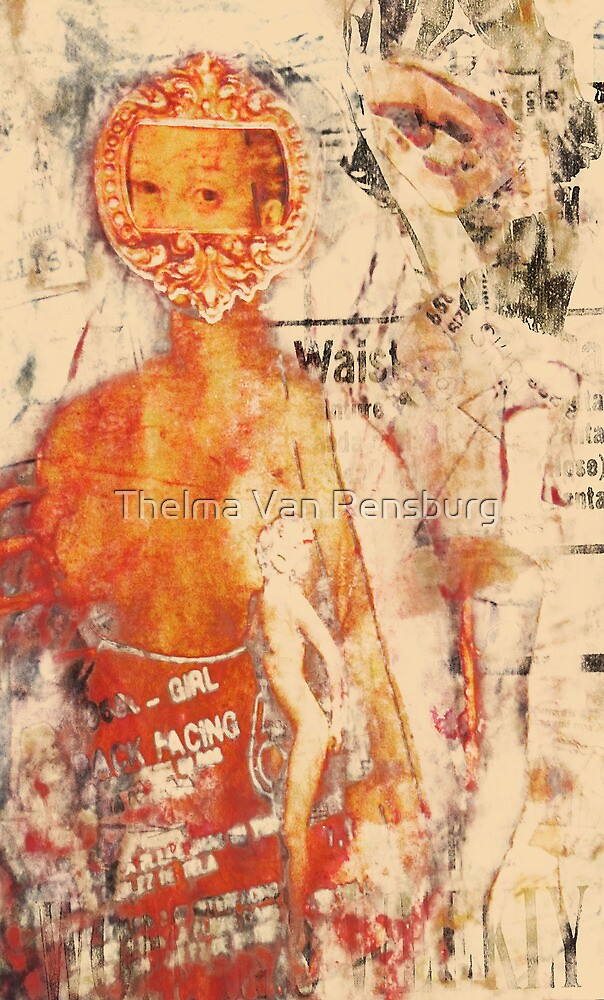 its a girl, 2011 by Thelma Van Rensburg