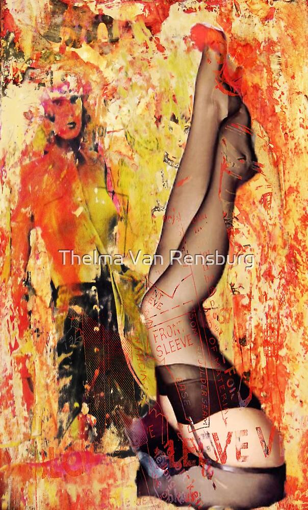 working girl, 2011 by Thelma Van Rensburg