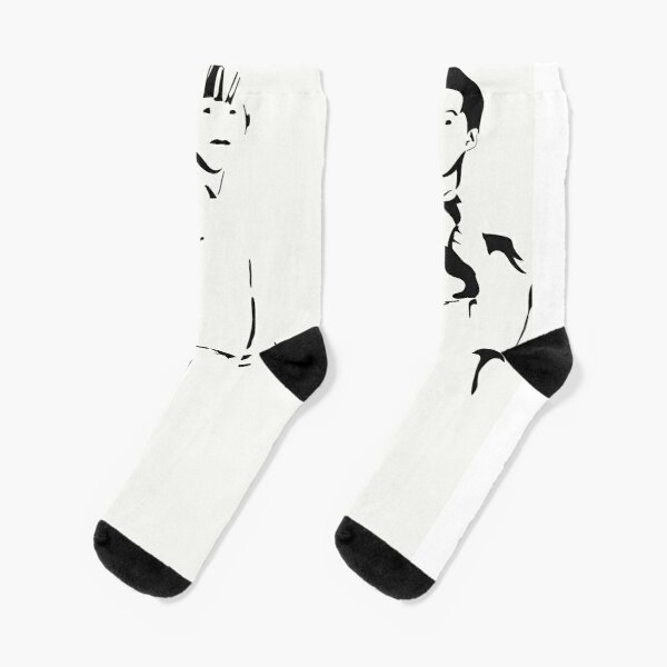 The Boys, Minimalist Art Socks