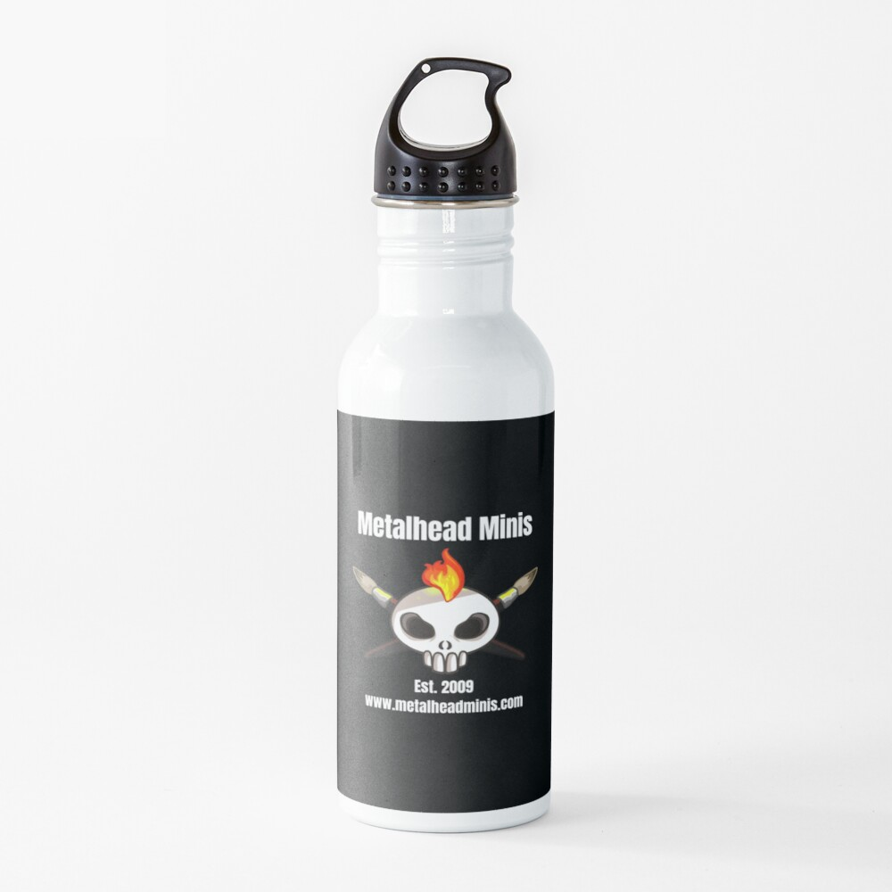 Metalhead Minis Logo Water Bottle