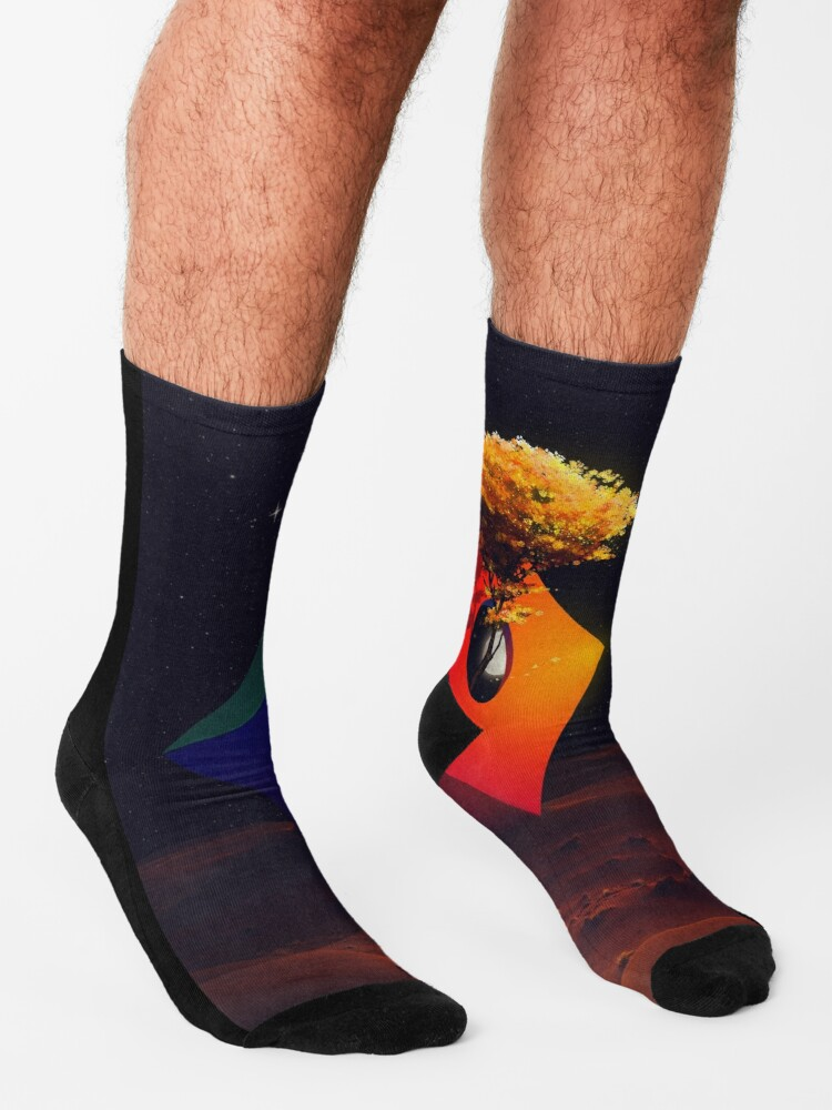 Alternate view of The Sanctuary Socks