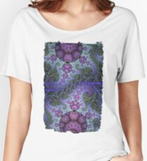 Mobius dragons and other patterns, fractal abstract artwork Women's Relaxed Fit T-Shirt