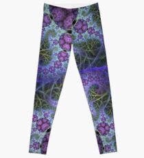 Mobius dragons and other patterns, fractal abstract artwork Leggings