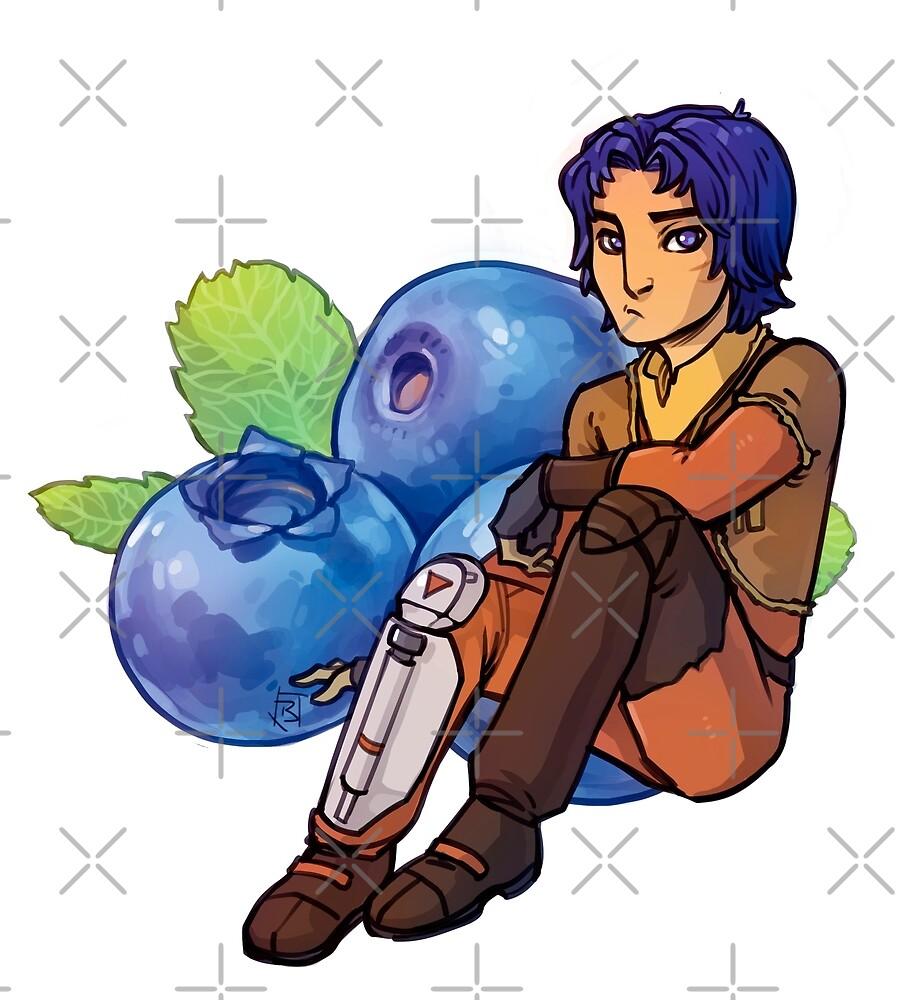 SWR Ezra 'Blueberry' Bridger by lornaka