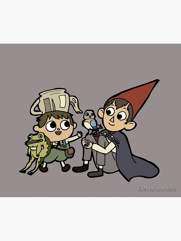 Over the garden wall  by EMthatwonders