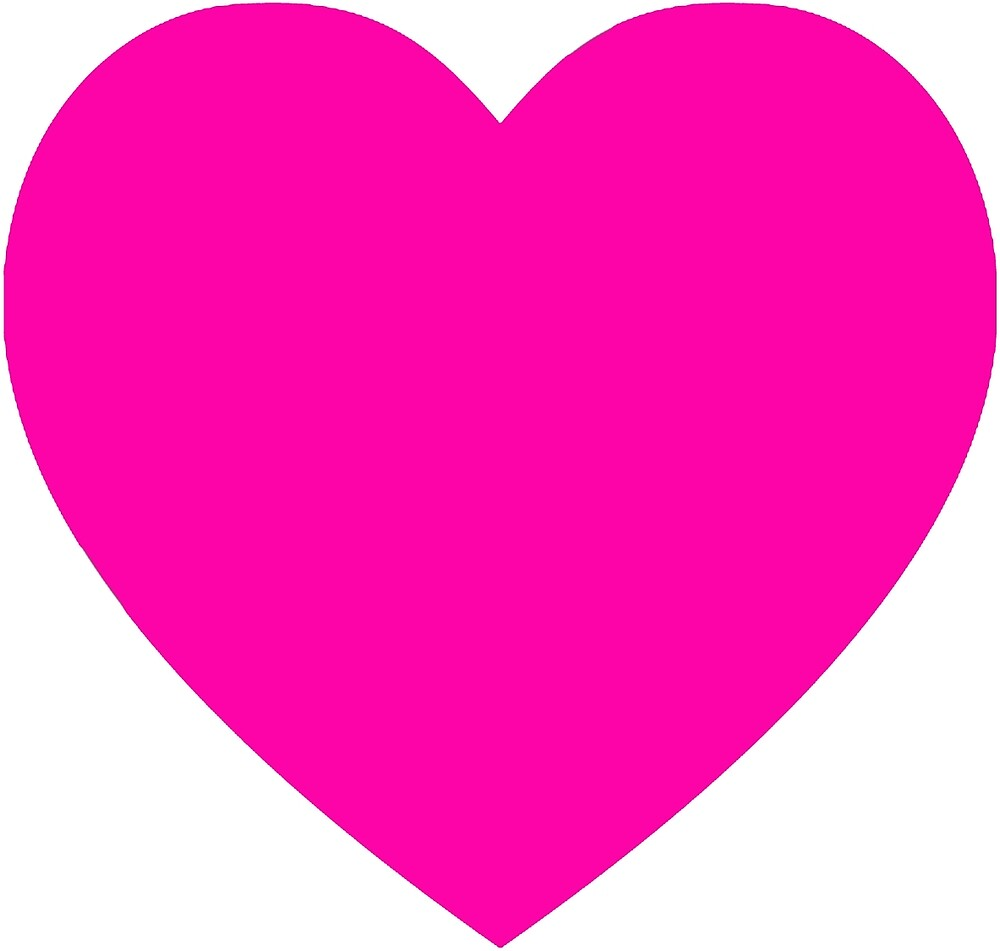 Pink heart by rachelshade